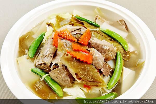 大里酸菜肚片湯