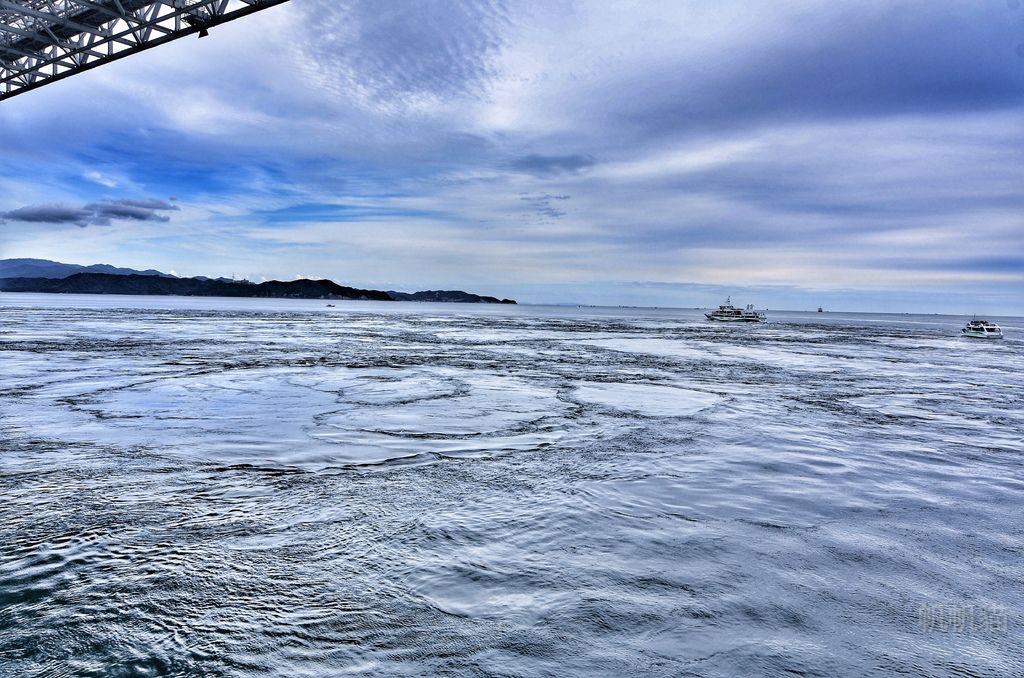 【日本 淡路島】坐船出海 看世界三大海流之一的鳴門渦流(漩渦)