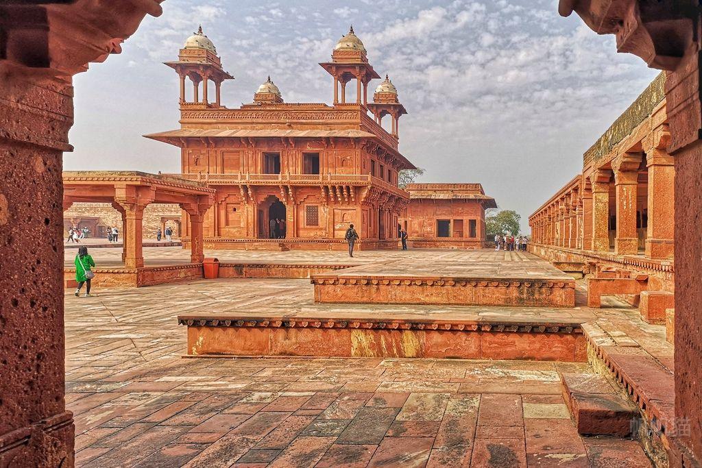 【印度 阿格拉】法第普西克里城Fatehpur Sikri 勝利之城 印度版龐貝