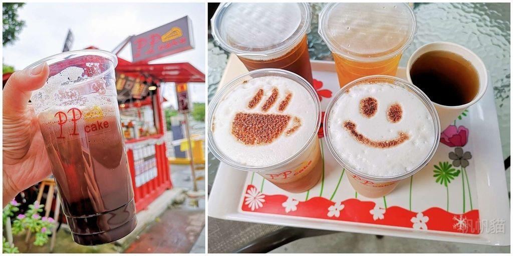 【花蓮 美食】PPcake 露天咖啡 福町路紅色貨櫃屋 現泡阿里山珠露茶 好喝的熱可可