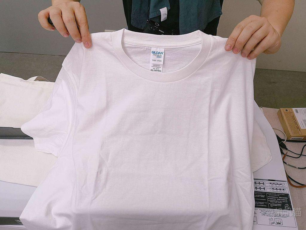 客製化T恤擺放重點-紡織直噴機推薦