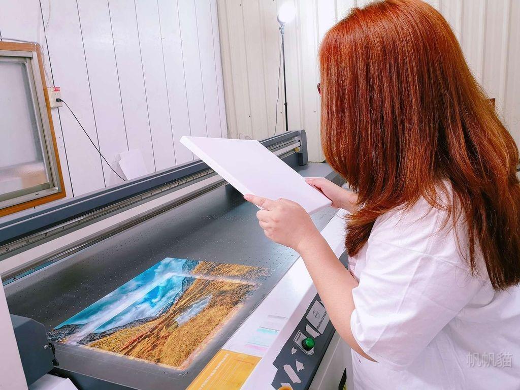 客製化無框畫前置作業-UV直噴機推薦