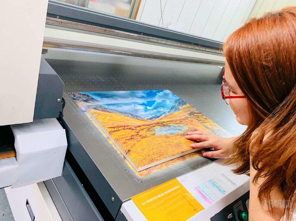客製化無框畫印製成品-UV直噴機