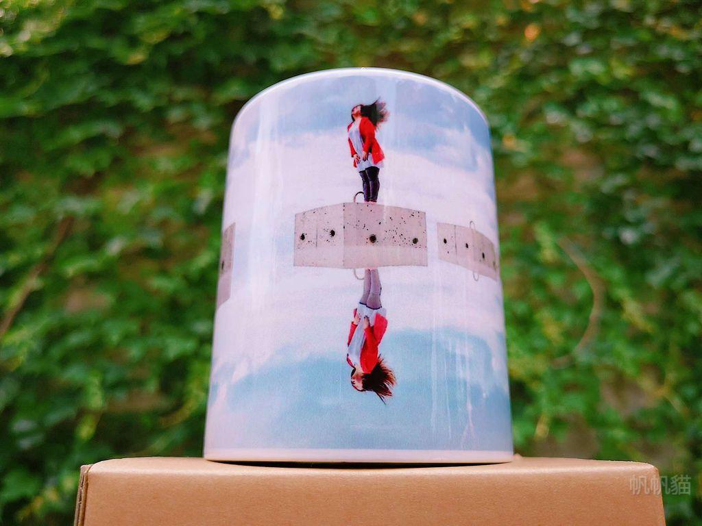 帆帆貓客製化馬克杯正面照-熱轉印機