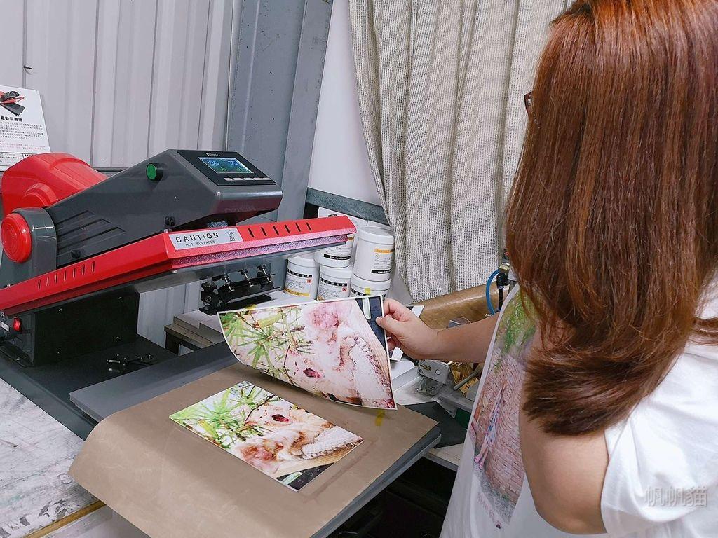 客製化拼圖轉印紙撕除-熱轉印機推薦