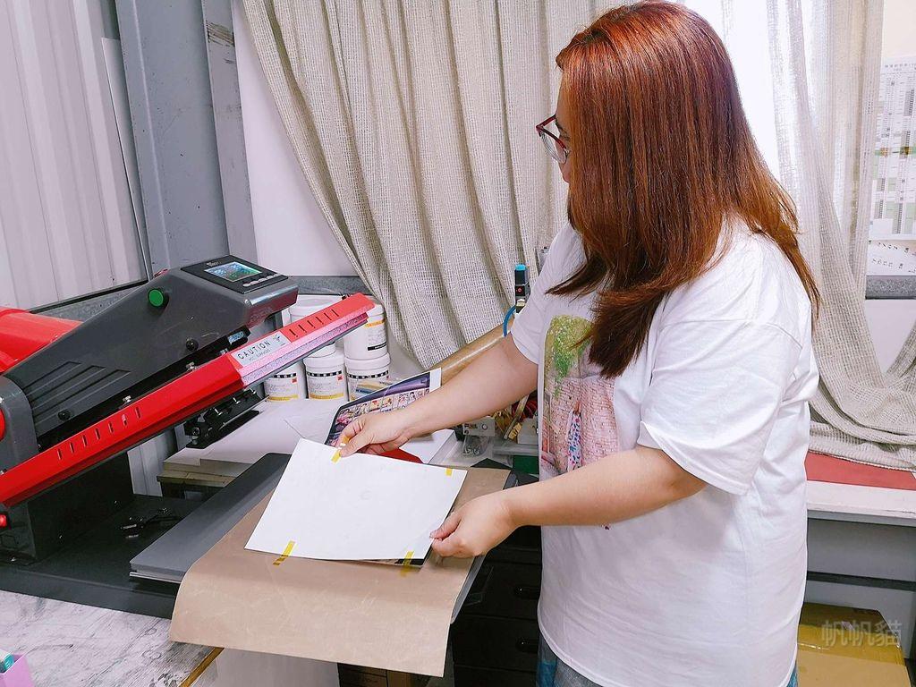 客製化拼圖轉印過程-熱轉印機推薦