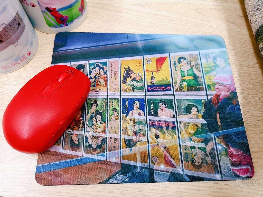 客製化滑鼠墊使用-熱轉印機推薦