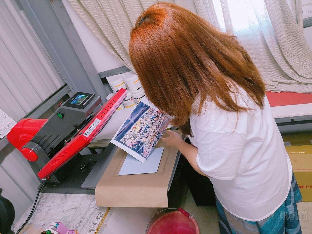 客製化滑鼠墊轉印前準備-熱轉印機推薦