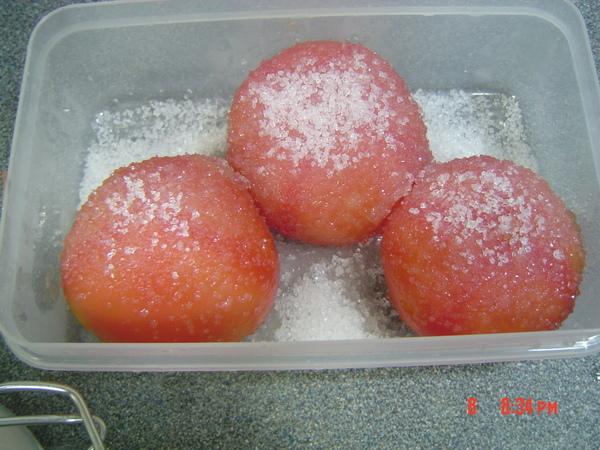 漬番茄之2加糖.JPG