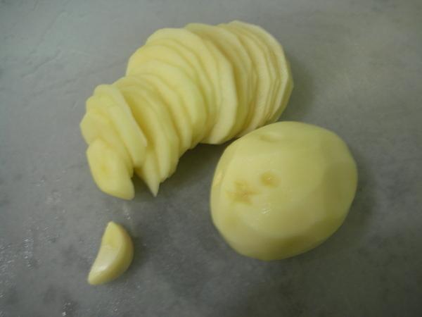 馬鈴薯千層派之1 切片.JPG