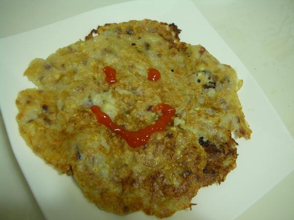 玉米餅之4 畫笑臉.JPG
