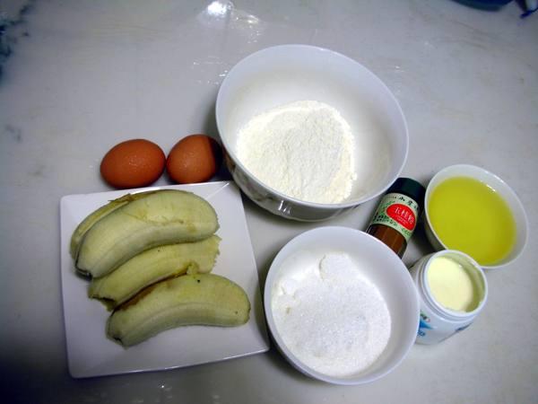 香蕉蛋糕之1 材料.JPG