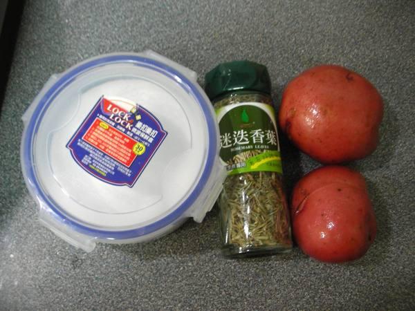 香草馬鈴薯之1 材料.JPG