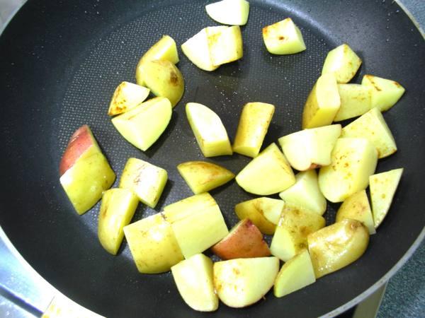 百里香馬鈴薯之3 煎焦.JPG