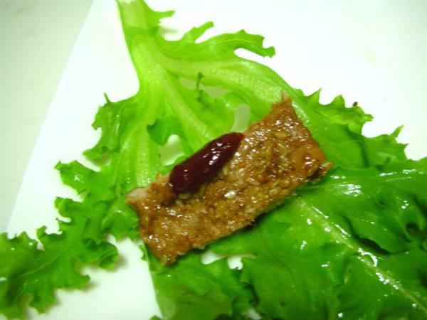 偽韓式烤肉之9 包菜菜.JPG