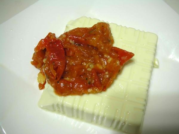 番茄醬佐豆腐1.JPG