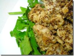 芥末雞配西洋菜3