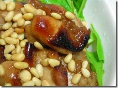 烤雞配西洋菜2