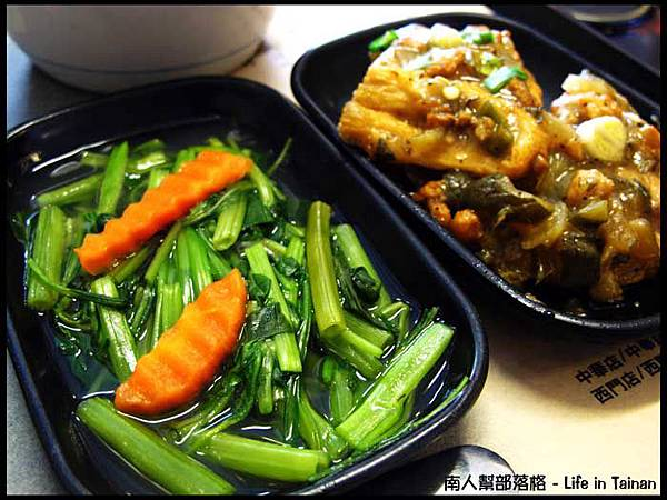 古城豆花庄-古早味豬油飯的小菜.jpg