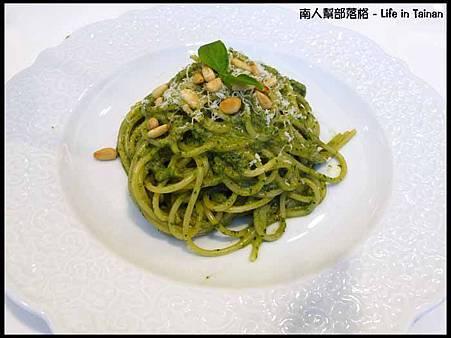ALESSI CAFE-松子青醬義大利麵(180元)