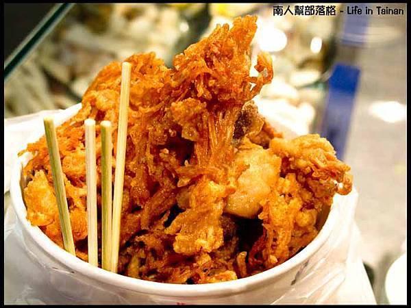 逢甲夜市-鹹酥菇(100元)
