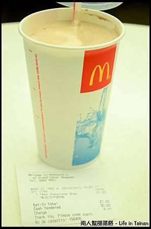 威尼斯人08-麥當勞奶昔