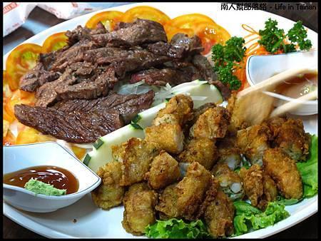 海之味餐廳-牛肉、蝦捲