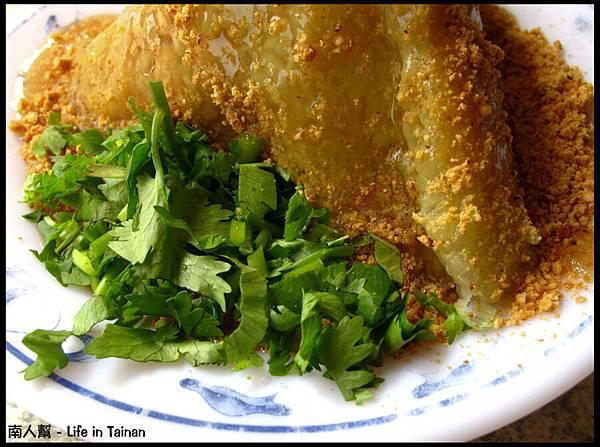 台南西門路老店菜粽-菜粽(25元)01