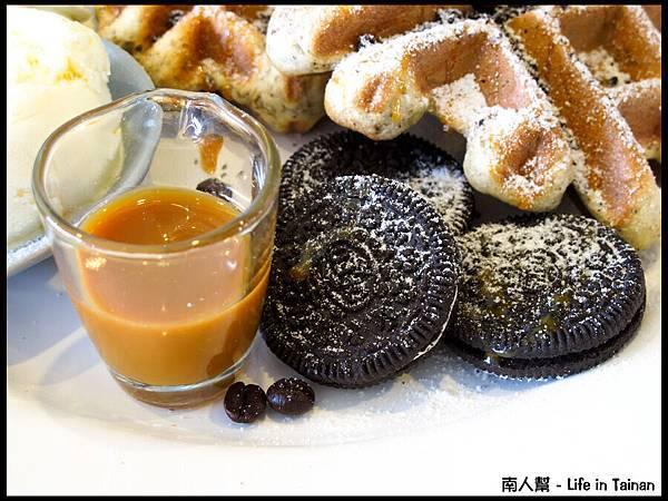 Bobba小田食。茶-咖啡牛奶太妃糖鬆餅02