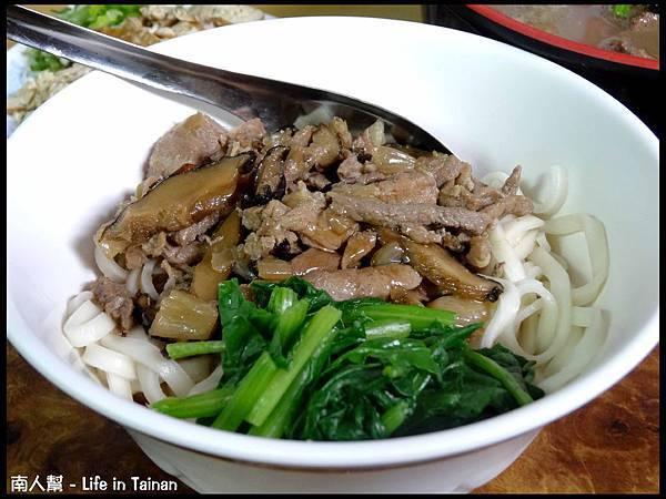 廖家牛肉麵-香菇肉燥乾麵(小70元份)
