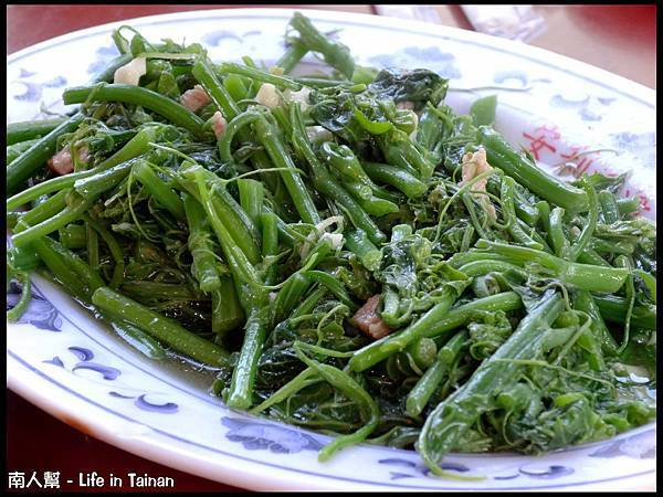 梅嶺文川梅仔雞-龍鬚菜