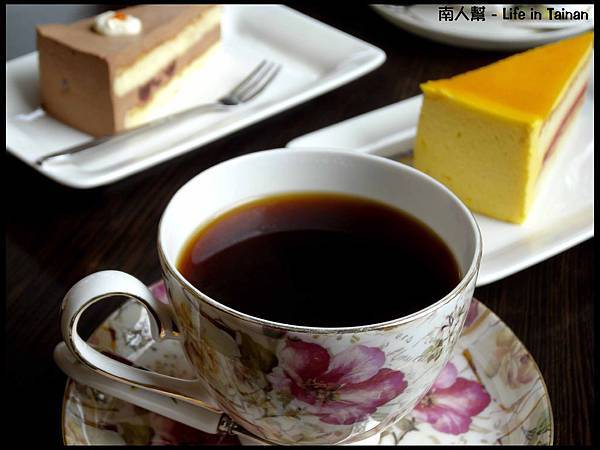山妍穆夏莊園咖啡-招牌台灣咖啡(200元附蛋糕)