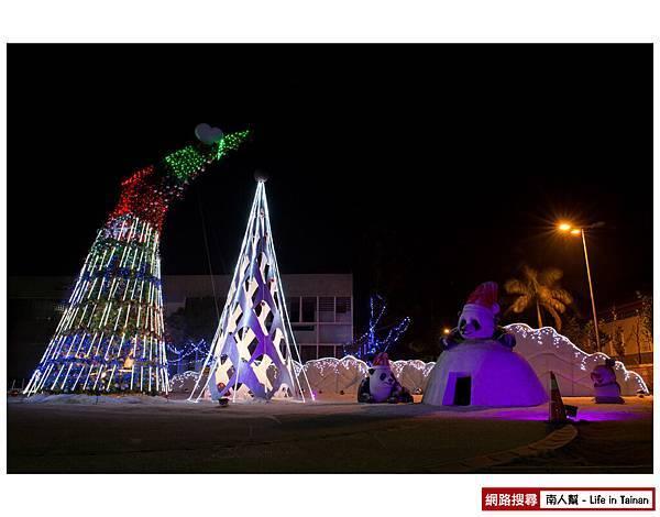 北門鹹伉儷聖誕樹
