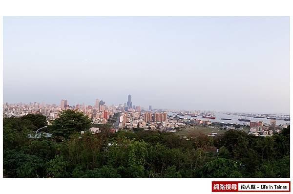 高雄壽山忠烈祠觀景台