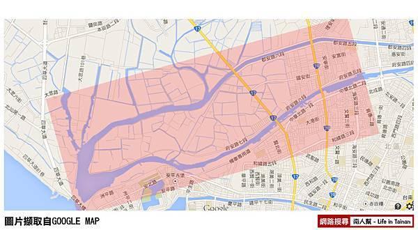 (08)嘉南大圳大排水道街道圖