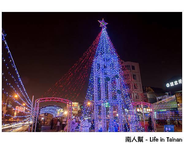 海安聖誕紀念日&海安路與中正路口聖誕樹