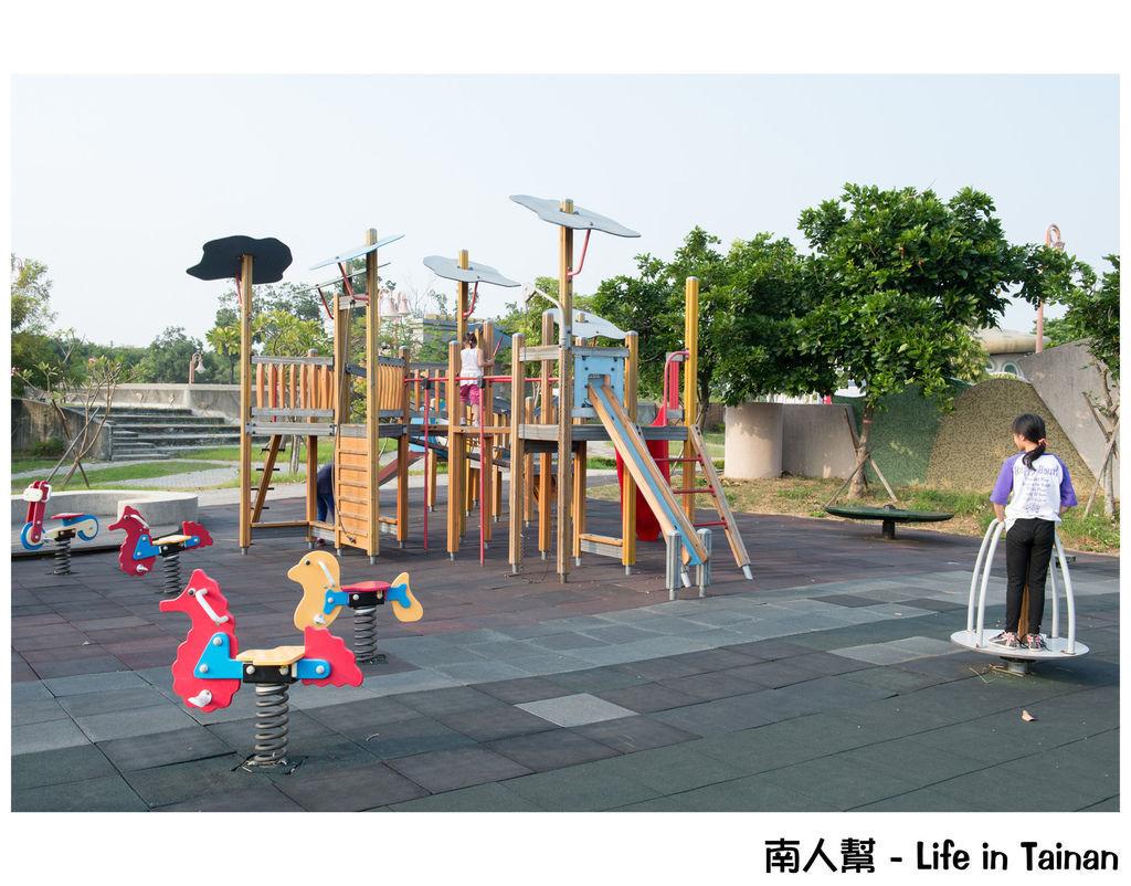 台南都會公園兒童島