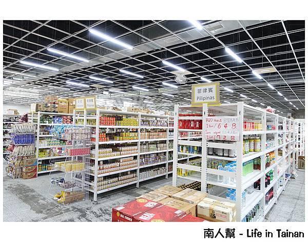 東南亞進口百貨批發超市(台南)