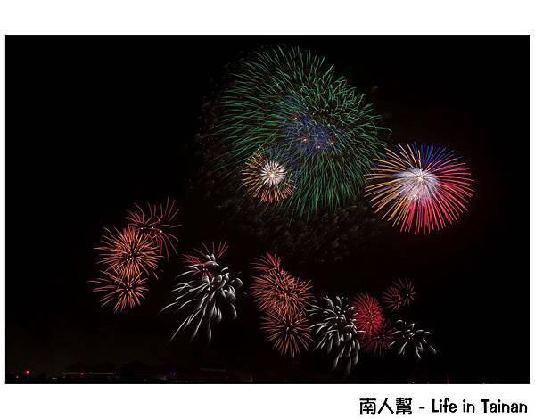 台南正統鹿耳門聖母廟2016花火迎春(國際高空煙火秀)