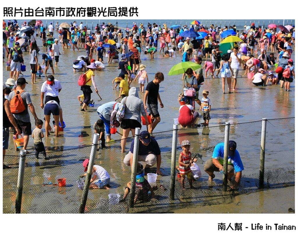 觀光赤嘴園暨挖文蛤體驗活動開幕 開心FUN暑假啖美食