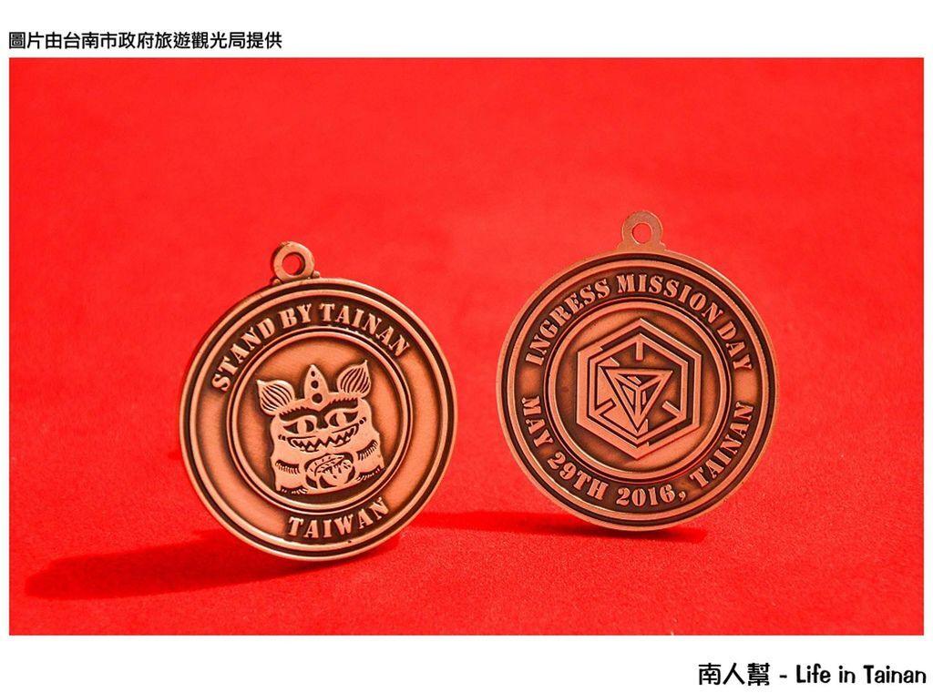 用遊戲看見、體驗不一樣的臺南-Stand by Tainan 實體徽章限量送