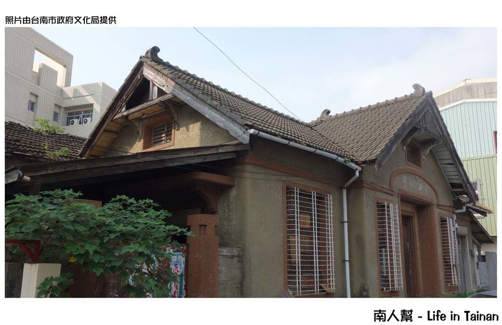 台南新登錄四處歷史建築