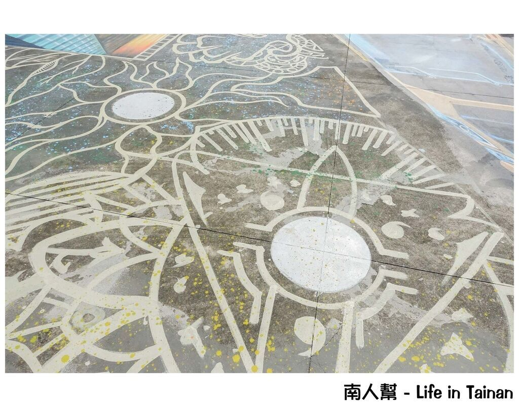 時空之城-全台最大天台3D地景壁景藝術