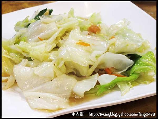 北海燒烤小炒物語-炒青菜.JPG