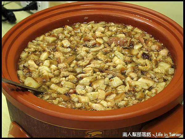 佳里阿安牛肉清湯(台南中華北路)-不油的肉燥.JPG