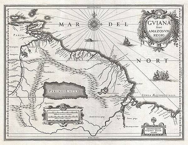 778px-1635_Blaeu_Map_Guiana,_Venezuela,_and_El_Dorado_-_Geographicus_-_Guiana-blaeu-1635.jpg