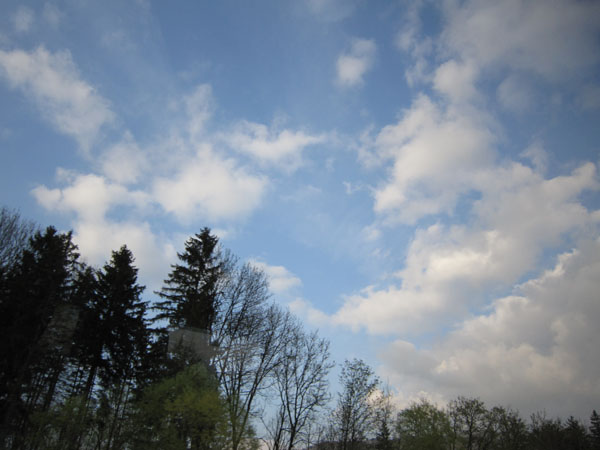 天空真的很漂亮