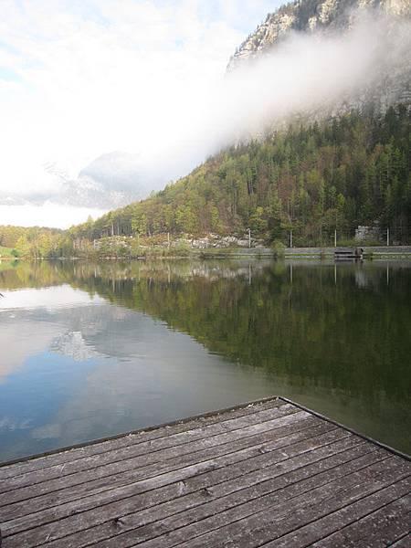哈斯塔特湖景