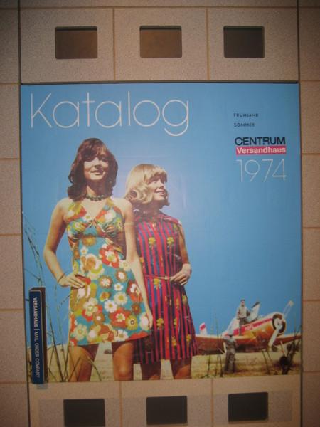 1974年  東德  郵購目錄的封面