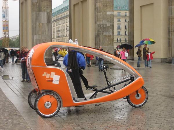 超可愛 -- 給觀光客坐的導覽腳踏車